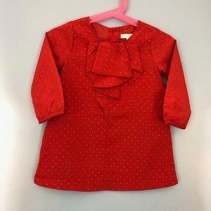 JANIE AND JACK RED DRESS